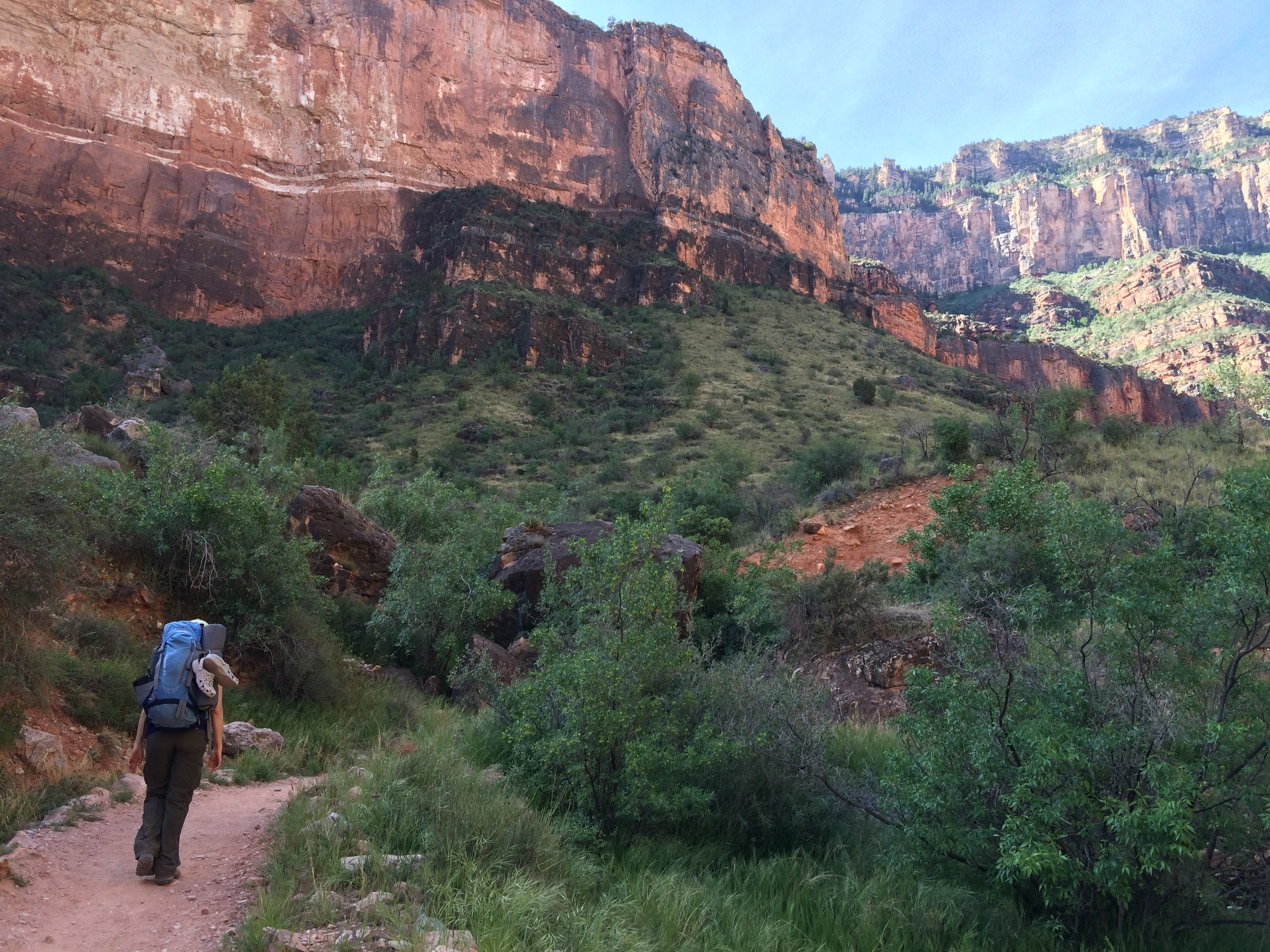Indian Garden Grand Canyon >> The Grand Canyon – Bright Angel Trail and Campgrounds – The Pursuit of Life