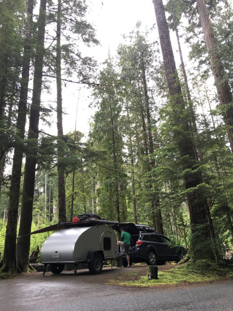 Heart of the Hills Campground, Olympic National Park, Washington
