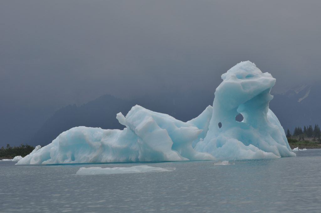 Iceberg in Aialik Bay, Kenai Fjords National Park, Alaska
