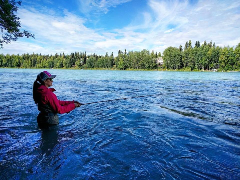 Salmon Fishing, Soldotna