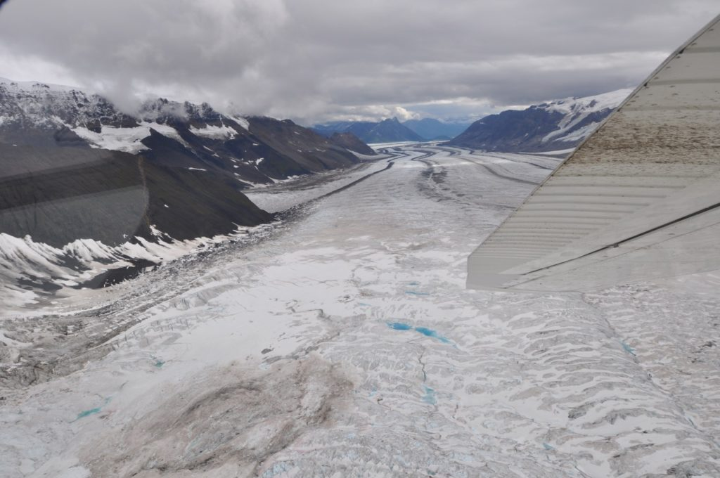 Glacier flightseeing, Wrangel St. Elias National Park, Alaska